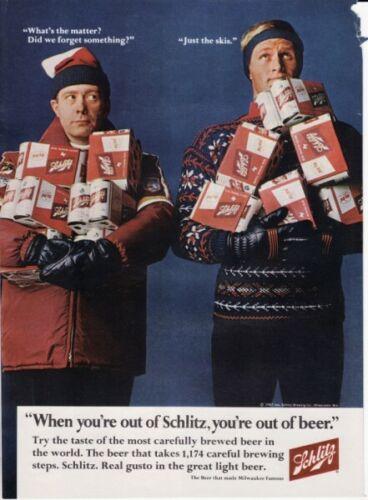 Vintage 1967 Jos. Schlitz Brewing Co Schlitz Beer Original Print Ad