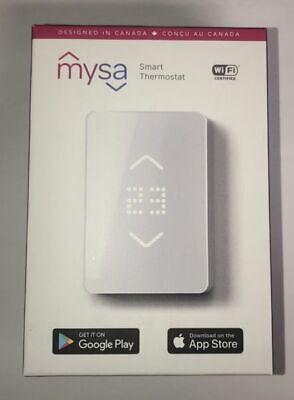 Mysa Smart Thermostat para calentadores eléctricos de zócalo - Blanco