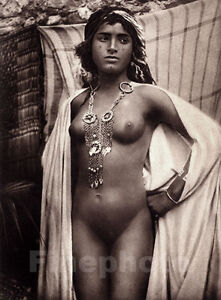 Details about 1925 Vintage Arab HAREM FEMALE NUDE Woman Tunisia Photo ...: www.ebay.com/itm/1925-Vintage-Arab-HAREM-FEMALE-NUDE-Woman-Tunisia...