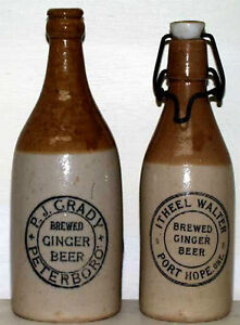 Antique Bottles 1850 - 1920 Druggist, Beer, Soda Kawartha Lakes Peterborough Area image 3