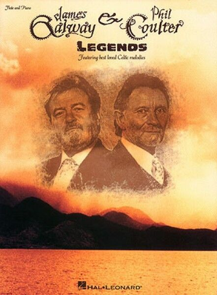 James Galway & Phil Coulter Legends Artist Books NEW 000306166
