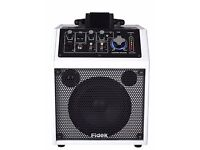Music Speaker with BlueTooth, perfect for live and street performance or home use.