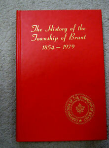 BOOK - HISTORY OF TOWNSHIP OF BRANT 1854-1979