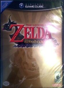 ●○●NEW GAMECUBE LEGEND OF ZELDA WINDWAKER BLACK LABEL●○●