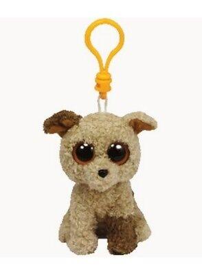 Ty Beanie Boo´s Schlüsselanhänger Terrier Rootbeer 8,5cm Plüsch Clip 36587