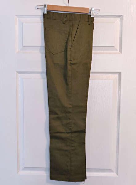 Vintage BOY SCOUTS OF AMERICA Uniform Green Pants Size 12 Waist 26