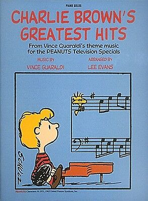Charlie Brown's Greatest Hits Sheet Music Piano Solo Songbook NEW 000240155 - Greatest Solo Songbook