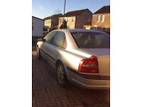 52 plate Volvo S80 D5 for spares or repair
