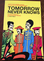 """brand new book """"Tomorrow never knows"""" signed by the artist"""