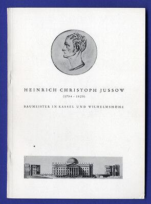 Kassel Wilhelmshöhe Architekt Baumeister Heinrich Christoph Jussow Ausstellung