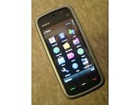 Touch Nokia 5230 Smartphone on 3G/ Three Network Good Condition Can Deliver