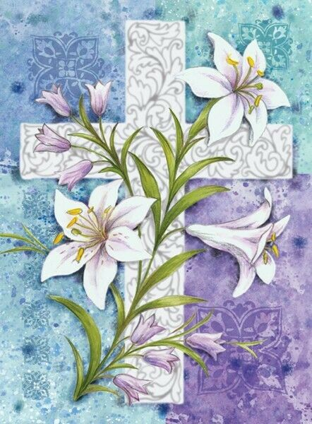 toland easter lilies 28 x 40 decorative