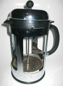 BODUM FRENCH COFFEE PRESS WITHOUT THE BEAKER