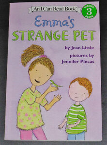 An I Can Read Book Rading Along 3 Emma's Strange Pet by Jean Lit