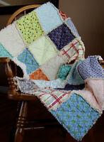 Crib/Toddler Rag Quilt Boy or Girl