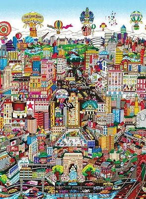 CHARLES FAZZINO JIGSAW PUZZLE MANHATTAN WILL MAKE YOU FEEL BRAND NEW 3D POP ART on Rummage