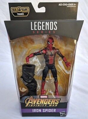 "Marvel Legends Avengers Infinity War Iron Spider 6"" Action Figure BAF Thanos New"
