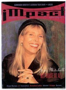 JONI MITCHELL ORIGINAL ARTICLE, IMPACT Dec. 1994