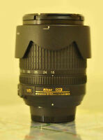 like new nikon AF S 18 105 G ED VR zoom lens