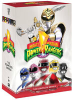 BRAND NEW POWER RANGERS COMPLETE SERIES ON DVD