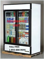 TRUE TWO GLASS DOOR COOLERS ( GDM 49 ) AND FREEZERS ( GDM49F )