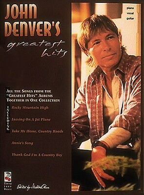 John Denver's Greatest Hits Sheet Music Piano Vocal Songbook NEW 002502166