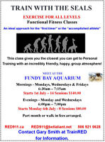 Functional Fitness Training Classes St Andrews New Brunswick