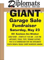 GIANT first-time Garage Sale