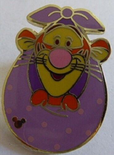 Disney Winnie the Pooh Pal Tigger Purple Blanket Hong Kong Disneyland Pin