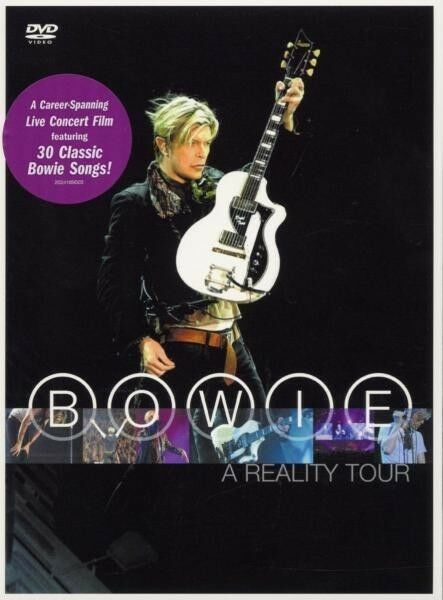 "DAVID BOWIE ""A REALITY TOUR"" DVD NEU"