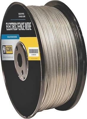 Acorn Efw1714 17 Gauge 14 Mile Length Galvanized Electric Fence Wire 8156283
