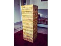 Giant Jenga - FOR HIRE (Wedding Games / Props)