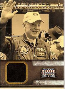 2012 Panini Americana Heroes & Legends Materials Jack Lousma