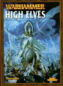 Warhammer High Elves Army Book OOP