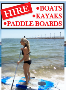 SUP Stand Up Paddle Board Hire free delivery