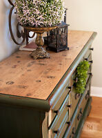 LARGE FRENCH COUNTRY DRESSER