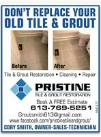 Tile and Grout Refinishing
