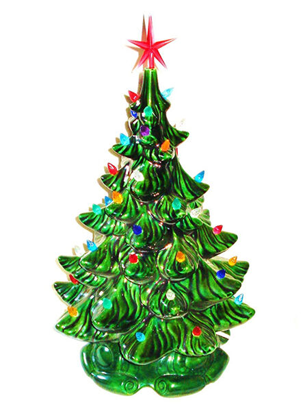 how to buy ceramic christmas tree lights ebay. Black Bedroom Furniture Sets. Home Design Ideas