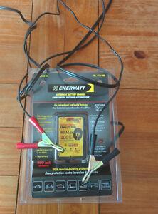 Chargeur à batterie Enerwatt Battery Charger 6/12 volt 900MAh