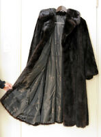 Stunning Mink Coat (Brown/Black)