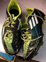 Used Youth Kids Child Soccer Shoes Size 1 Adidas F50 sz