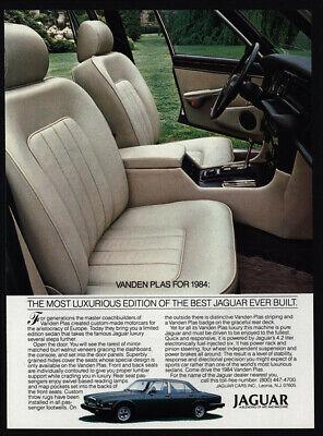 1984 VANDEN PLAS JAGUAR Luxury Car VINTAGE AD