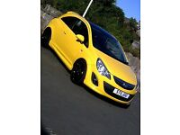Vauxhall corsa limited edition 2011