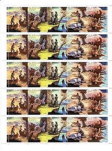 USSR Russia 1989 Mi 6009-13 Sheet ** Fairy Tales Legends Märchen Sagen J Cooper - Dabrowa Bialostocka, Polska - USSR Russia 1989 Mi 6009-13 Sheet ** Fairy Tales Legends Märchen Sagen J Cooper - Dabrowa Bialostocka, Polska