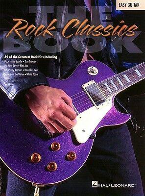 The Rock Classics Book Sheet Music Easy Guitar NEW 000702055