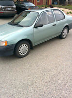 Toyota Tercel $1,200 *REDUCED PRICE FOR QUICK SALE*