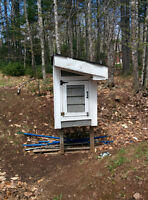 Insulated Chicken Coop