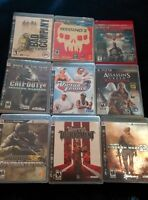 Great Condition PS3 Games (10$ each)