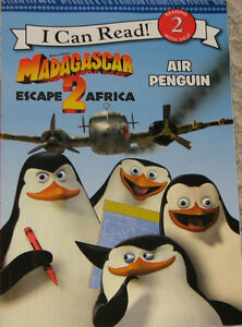 Madagascar 2 Book & 6 Toys (Lot # 6) London Ontario image 1