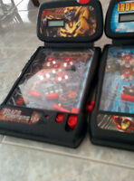 Table top/pinball machines